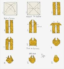 directions for origami
