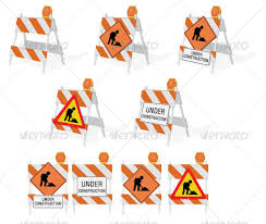 construction barricades