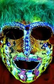 plaster face mask