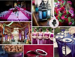 purple and pink weddings