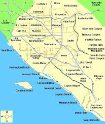 map of orange county cities