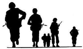 soldiers clipart