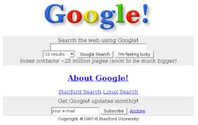 first google page