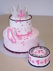 princess 1st birthday cakes