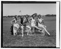 vintage golf attire