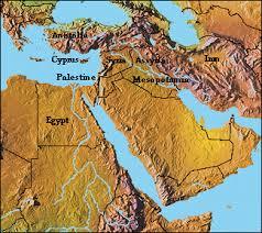 map near east