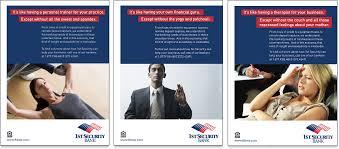 bank print ads