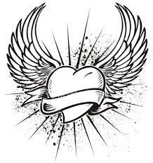 cool heart tattoo