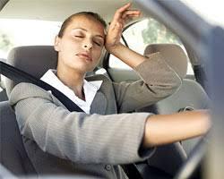 fall asleep at the wheel