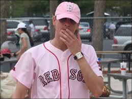 pink red sox shirt
