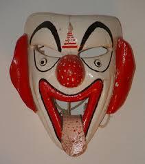 happy clown masks