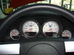 dodge charger gauges