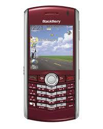 blackberry 8100 red