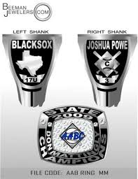 state champion rings