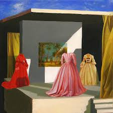 paintings of dresses