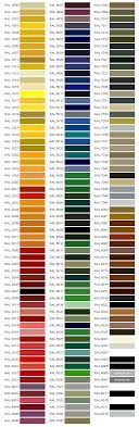 ral kleurenkaart
