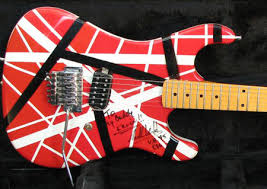 guitar eddie van halen