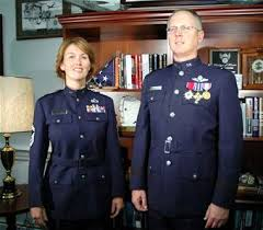 air force officer uniforms