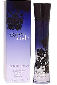 armani code woman