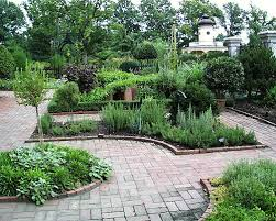 victorian herb garden