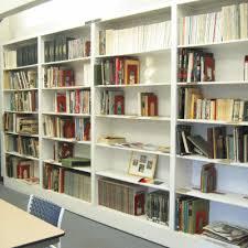 hand made bookshelves