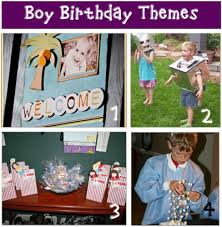 boy birthday theme
