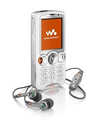 sony ericsson white phone