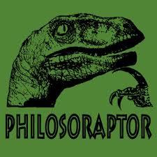 philosoraptor t shirt