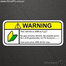 jdm decals stickers