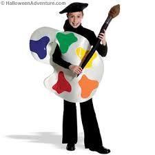 artist halloween costume
