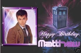 dr who birthday cards