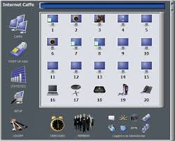 internet cafe program