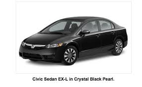 black honda civic 2009