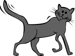 black cartoon cats