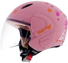 pink crash helmets