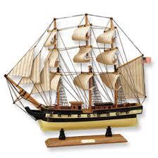 old ship model