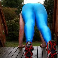 spandex running pants