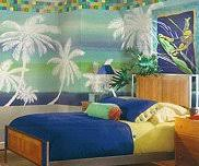 bedroom beach theme
