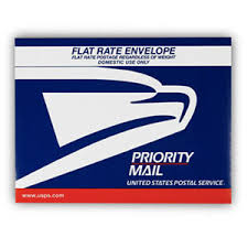 priority mail flat rate envelope