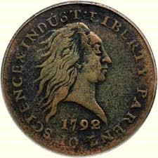 1792 penny