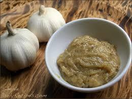 roasted garlic paste