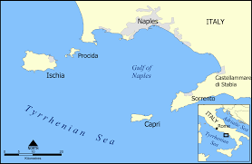 island of capri map