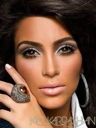 kim kardashian without hair extensions