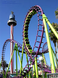 extreme roller coaster