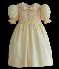 smocked dresses for children