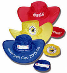 foldable hat