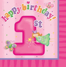 girl 1st birthday