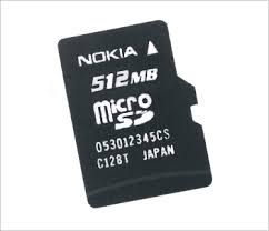 nokia phone with memory card