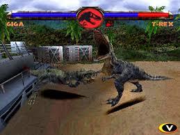 jurassic park playstation game