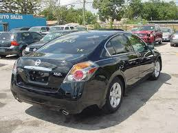 2008 black nissan altima